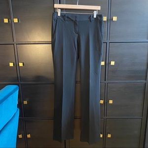 THEORY mid rise straight leg pants